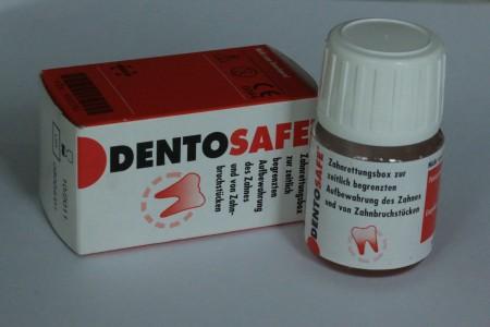 Die Dentosafebox sollte in jeder Schule und jedem Haushalt vorhanden sein, um heruasgefallene Zähne zu transportieren!